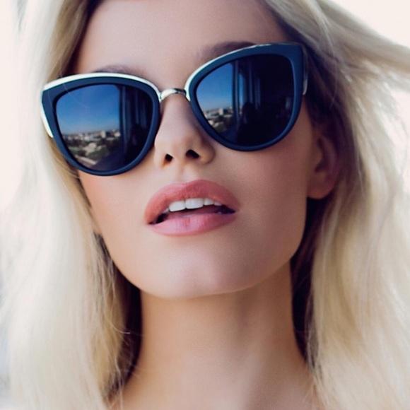 d6a0e7e0cbde Quay my girl Cat Eye Sunglasses black smoke. M_5ac5c4cd3800c53a5068fd0f